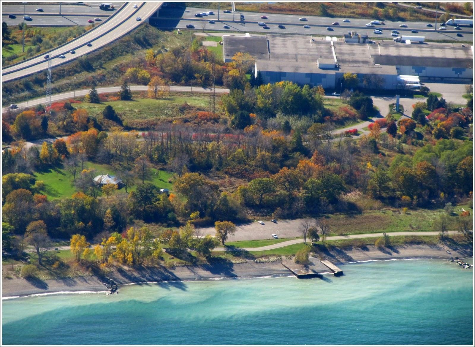 Hamilton Conservation Autumn From Above