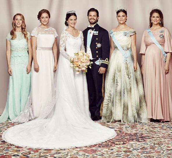 Prince Carl Philip And Sofia Hellqvist's Wedding Ceremony Photos