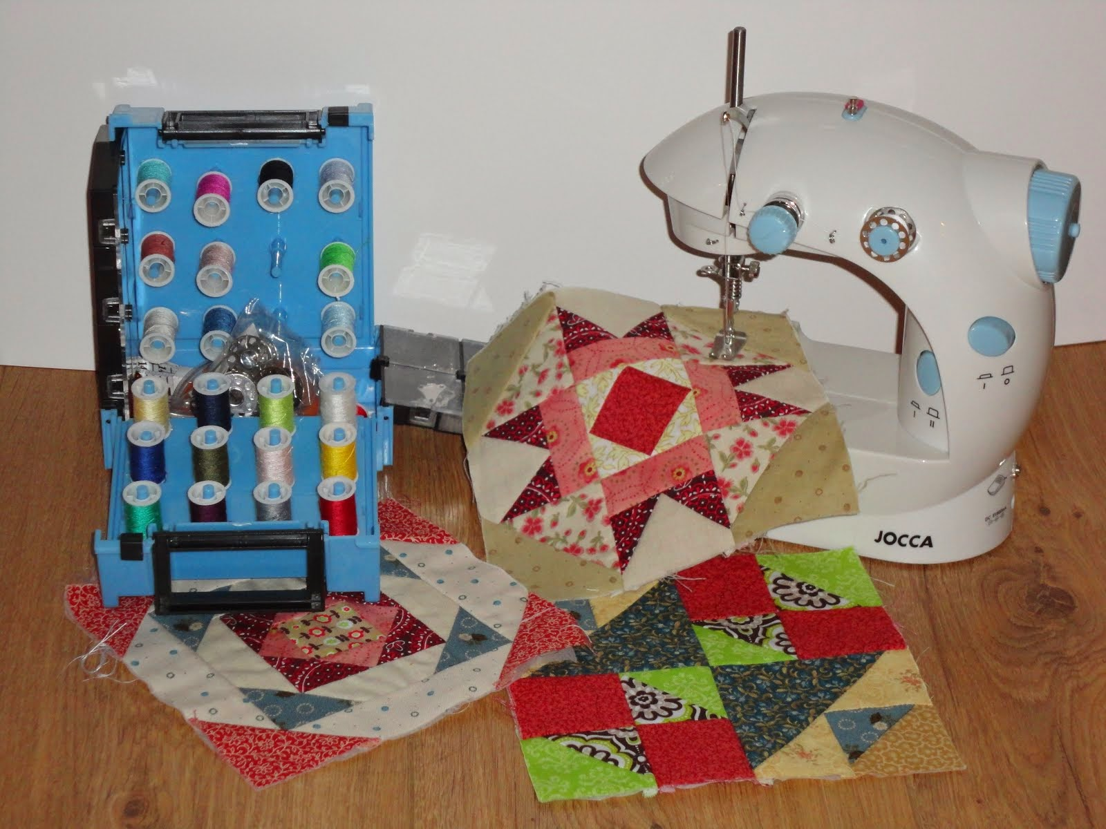 Dit is mijn super klein naaimachine