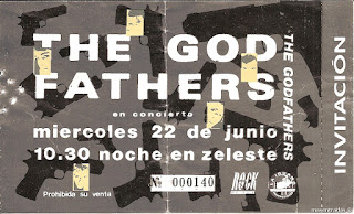 entrada de concierto de the godfhaters