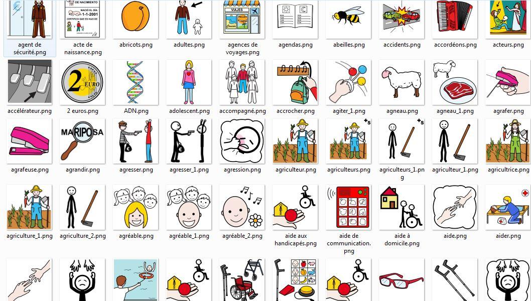 Bien connu Les excellents pictogrammes du site Arasaac - Ressources pour l'école HA36