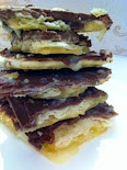 Chocolate Toffee Saltine Crackers