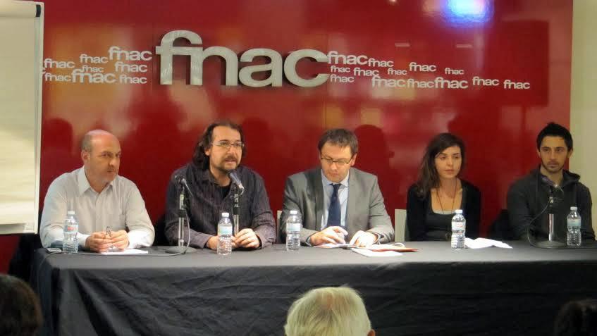 Miguel Bustos, Carme Pons, Toni Reig, Félix Sabaté, Jordi Riera Pujal