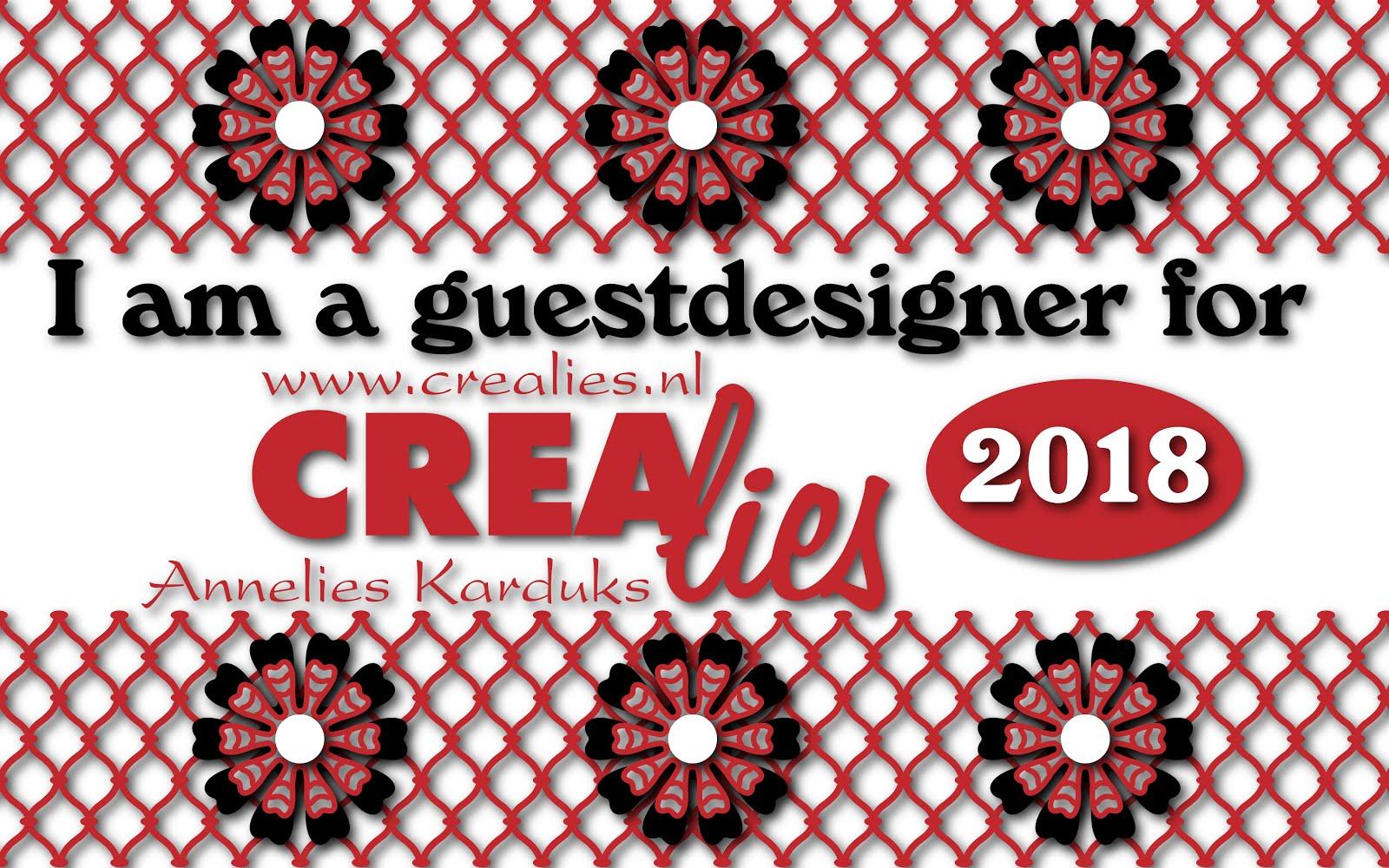 CREALIES guest designer