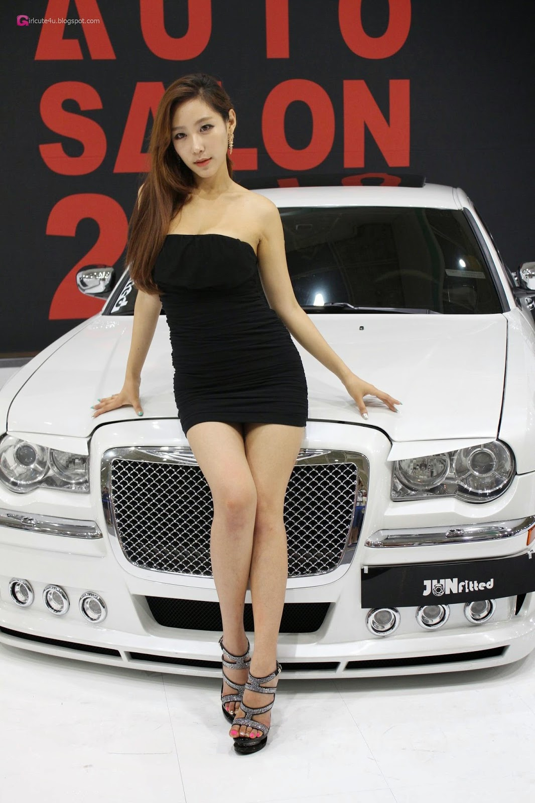 4 Kim Tae Hee - Seoul Auto Salon 2014 - very cute asian girl-girlcute4u.blogspot.com