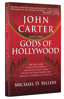Book Cover for John Carter and the Gods of Hollywood