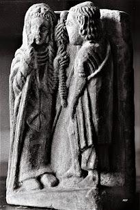 Grupo escultorico policromado