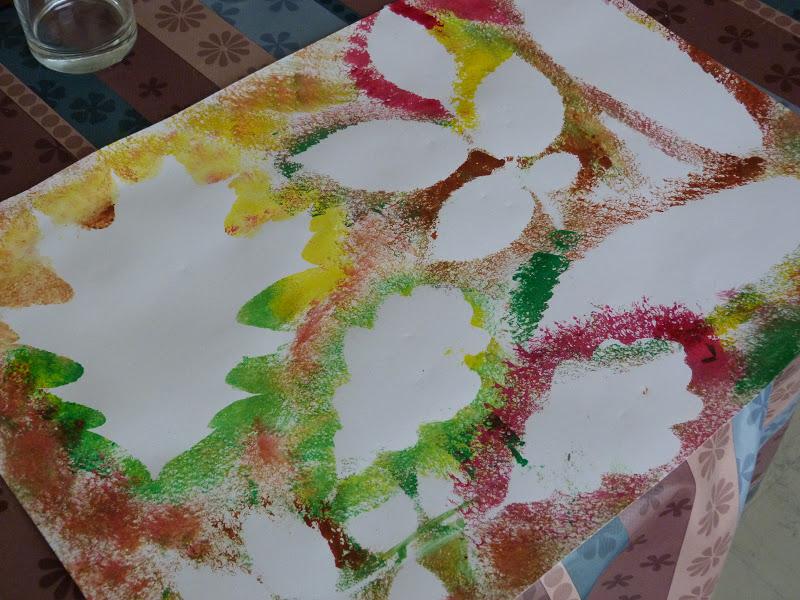 Le petit prince dans les toiles petits bricolages d 39 automne - Bricolage feuille d automne ...