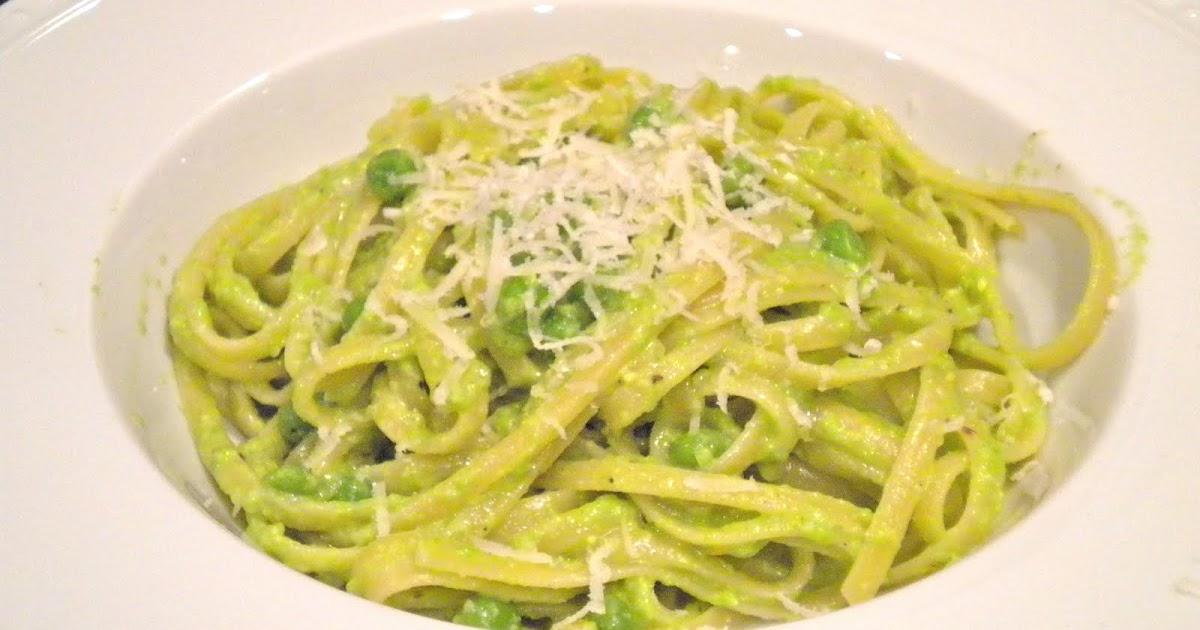 Kitchen Cactus: Linguine with Pea Pesto