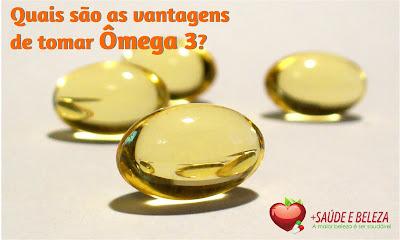 Quais são as vantagens de tomar Ômega 3?