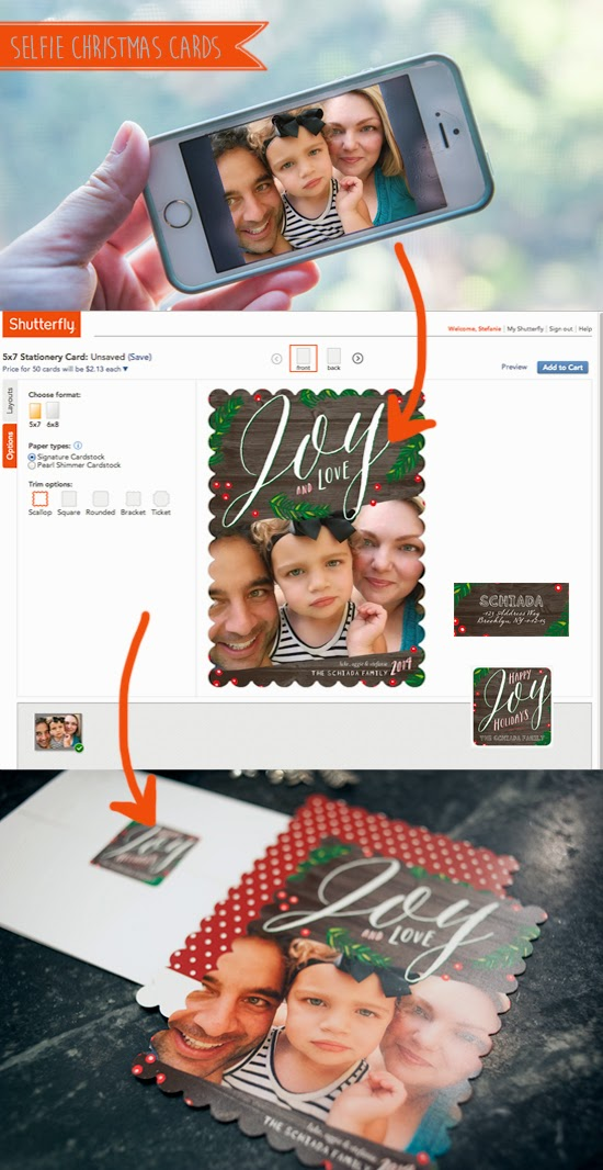 Selfie Holiday Card Tips | Brooklyn Limestone