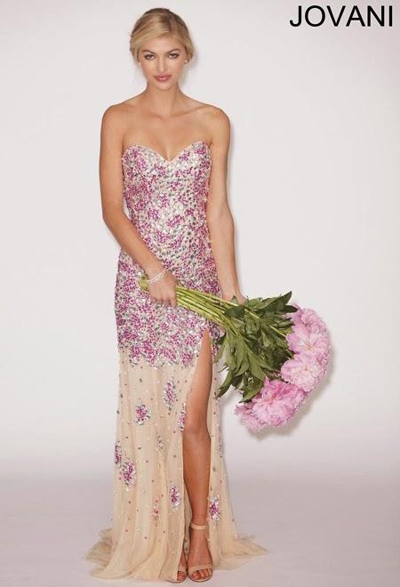 Дълга рокля за бал 2014 Jovani