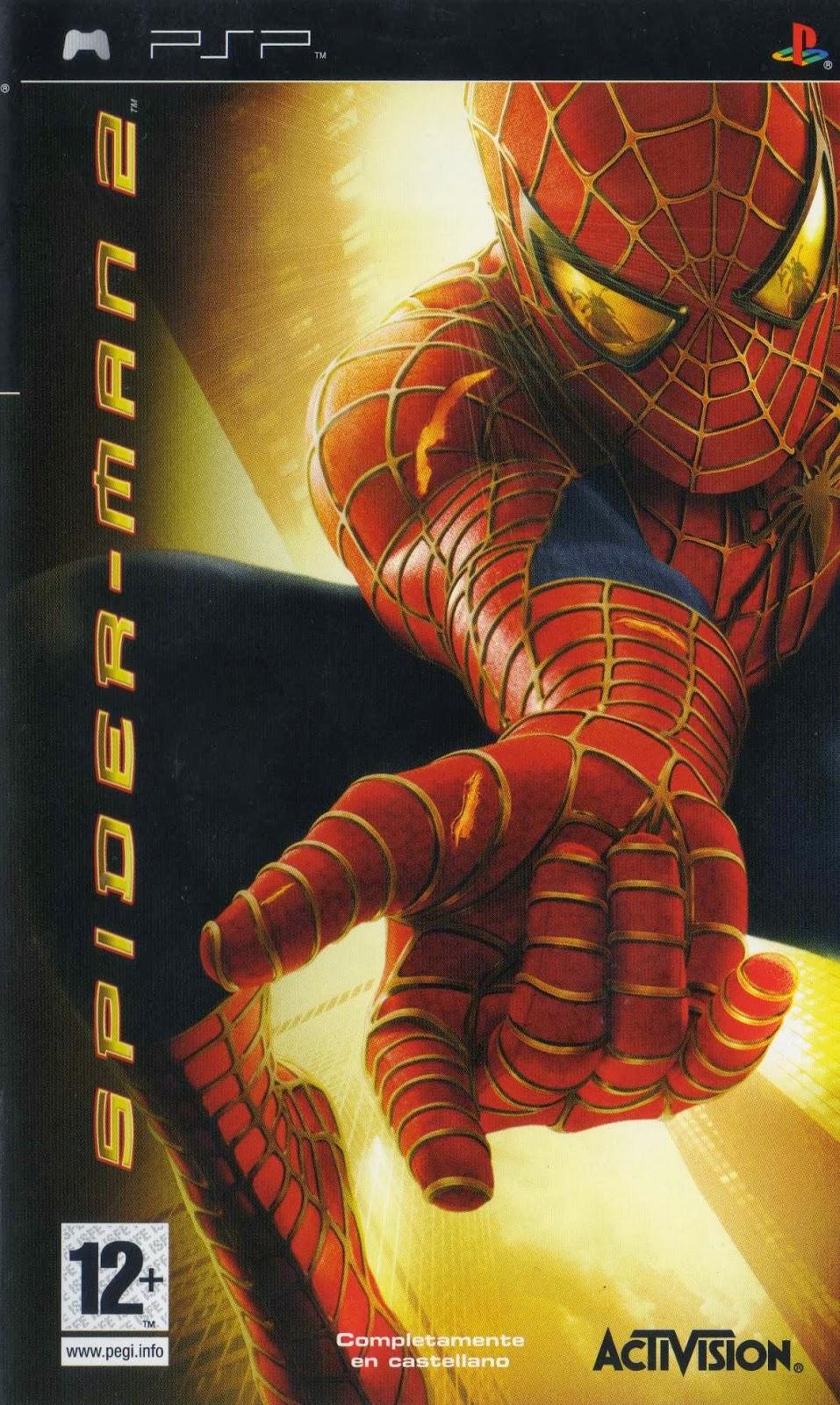Spiderman 2  El Hombre Araa 2 Mult Inc Espaol PSP MG