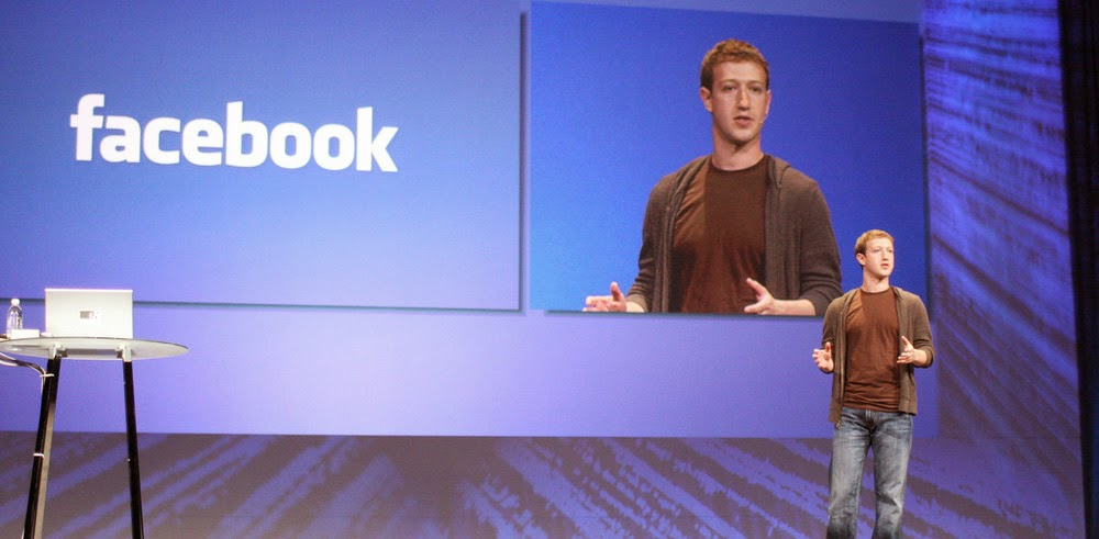 Mark Zuckerberg 2015 Face 'Book' Challenge