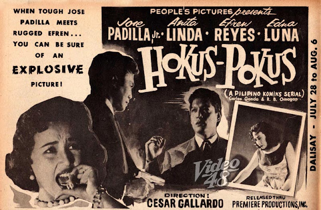 Hocus pocus quot 1955 56 komiks serial and movie adaptation re posted