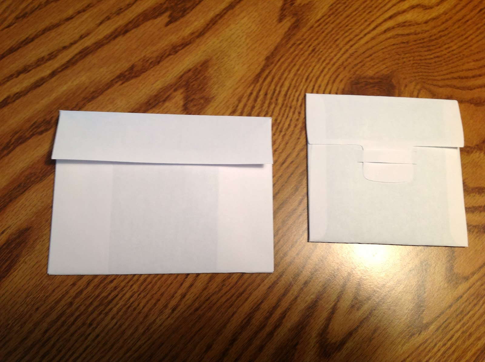Papercrafts And Other Fun Things Plain Envelope And Plain