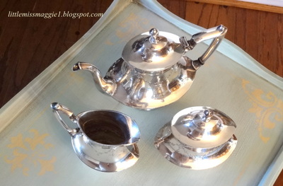 Littlemissmaggie Aqua Coffee Table