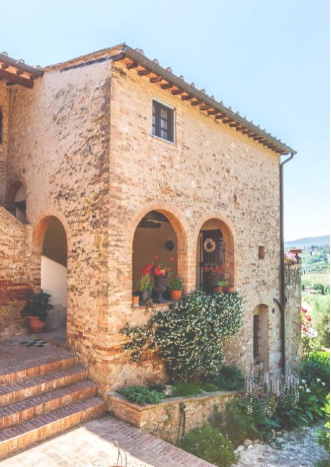 Escuela de interiorismo estilo toscano for Estilo toscano contemporaneo