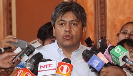 Acusan formalmente a Mario Cossío por el referéndum de 2008