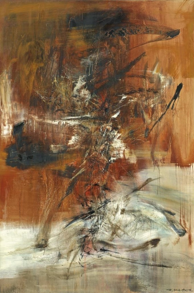 The most expensive paintings by zao wou ki artist ivan for What is the most expensive painting
