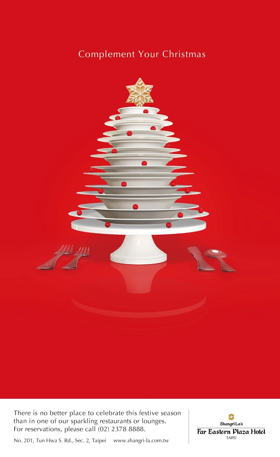 15 Clever Christmas Tree Advertisements | Smashcave