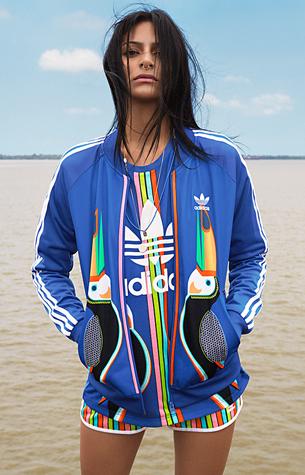 Adidas Originals y Farm sudadera y short deportivo 2016