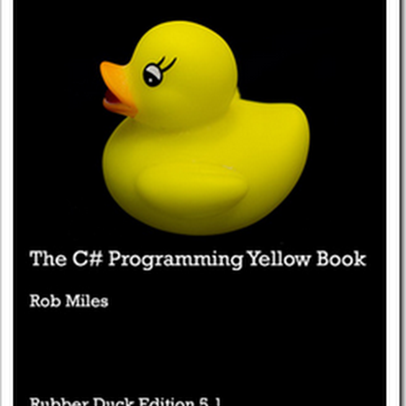 Download Rob Miles C# Yellow Book