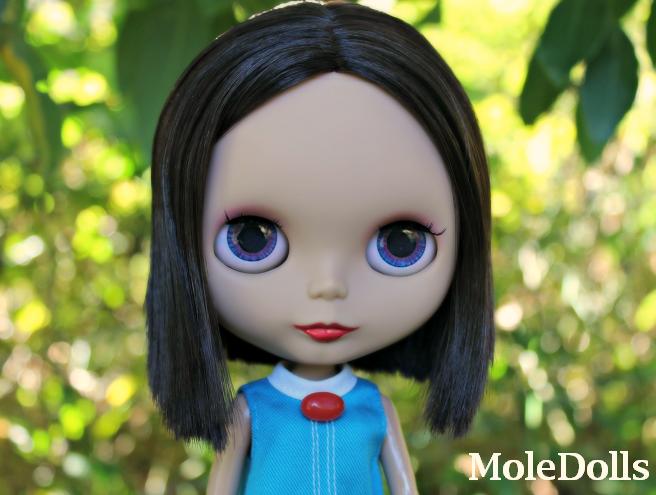 MoleDolls: New OOAK Custom Neo Blythe N.47