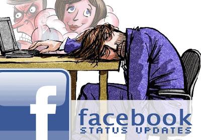 Capek Karena Facebook