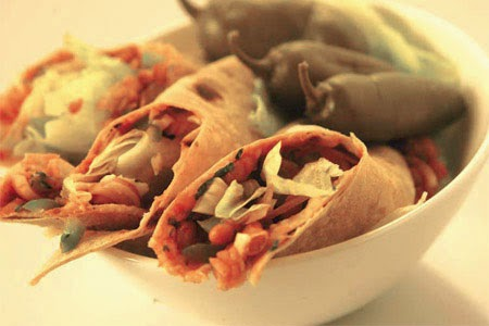 Baked Beans Wrap