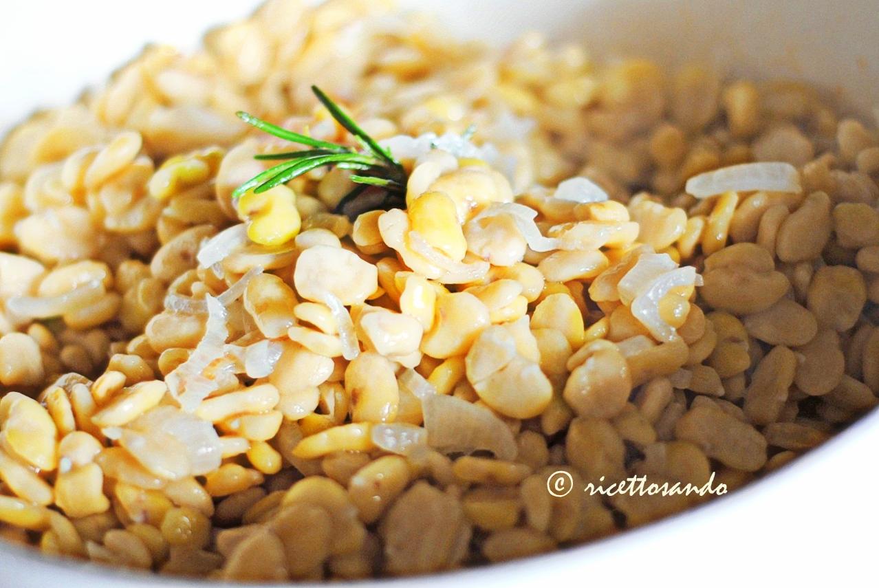 ricetta Purea di fave legumi