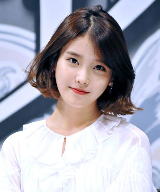 Lee JiEun IU Hairstyles Inspiraton  Korean Hairstyle Trends