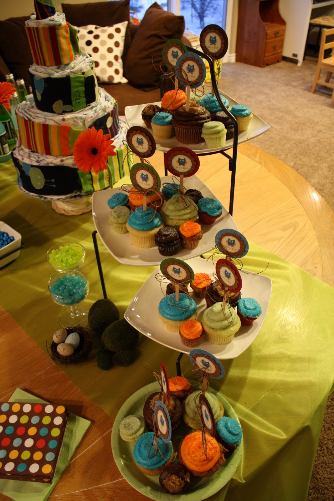 Adventures In My Life Woodland Forest Baby Shower