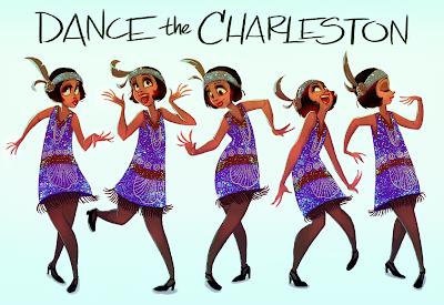 Jenny scott dancing charleston nude