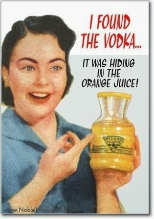 I Found the Vodka Hiding in the Orange Juice