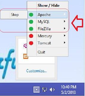 <img alt='cara mengecek service yang sedang berjalan melalui xampp taskbar' src='http://4.bp.blogspot.com/-LQfV05ObNPk/UYJ8C2zr_ZI/AAAAAAAAGi4/D5NfB0OhgD0/s1600/service+xampp+di+taskbar.jpg'/>