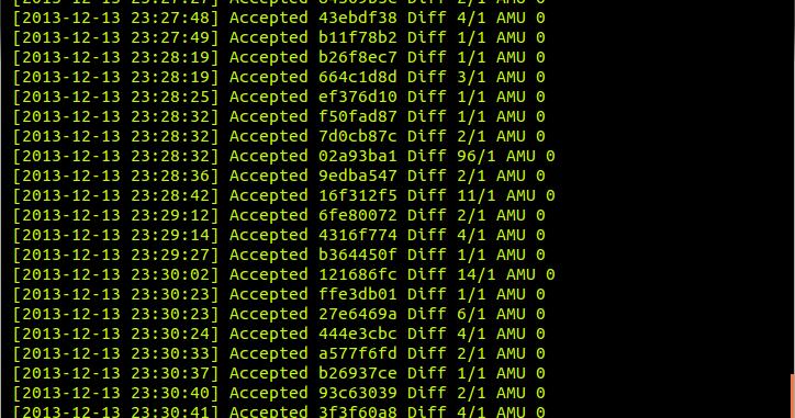 UbuntuHak: Bitcoin Mining with Block Erupter ASIC Miner in Ubuntu