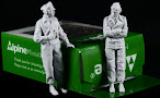Review: Alpine Minature's new panzer commander figure set in 35th scale..