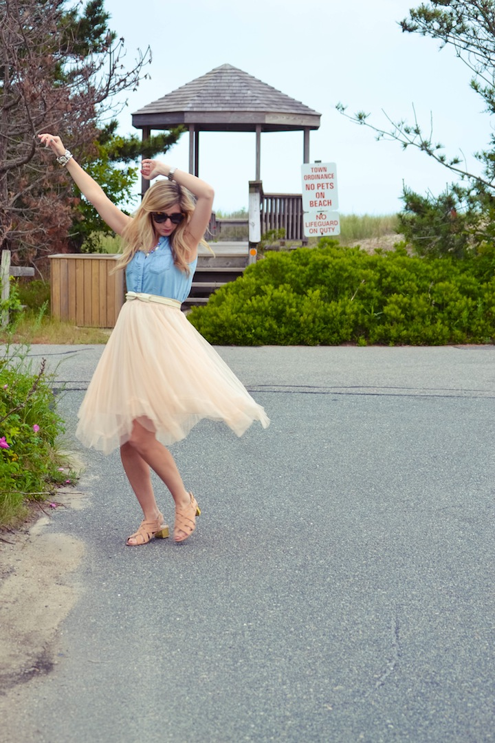 Beach Tulle Dress