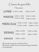 Clases de ganchillo en Madrid