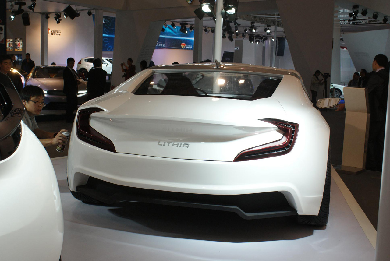 Ch Auto 39 S Lithia Ev Strikes An Audi Like Profile In China