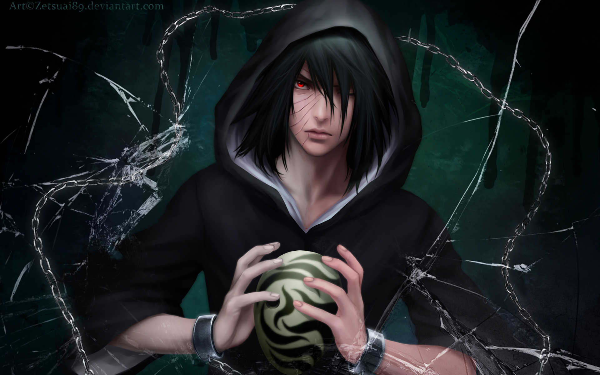 tobi obito sharingan mask anime wallpaper 1920x1200 full original