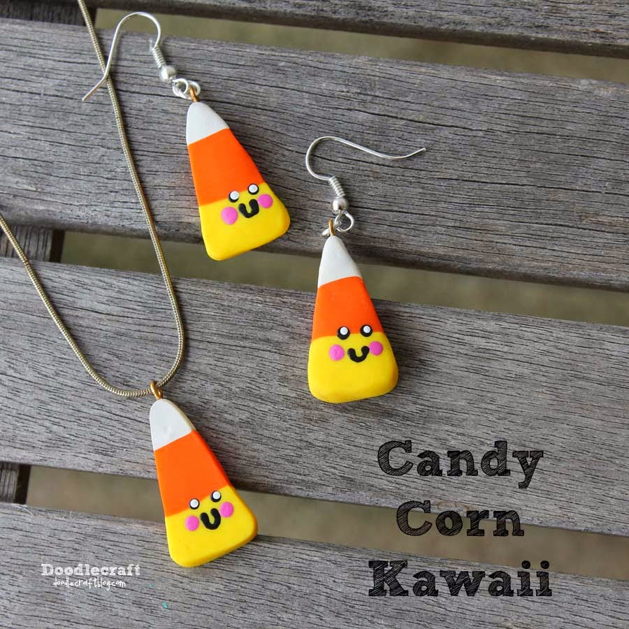 Candy Corn Jewelry Kawaii Candy Corn Jewelry