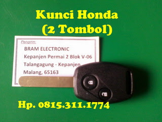 Kunci Remote Honda Odyssey