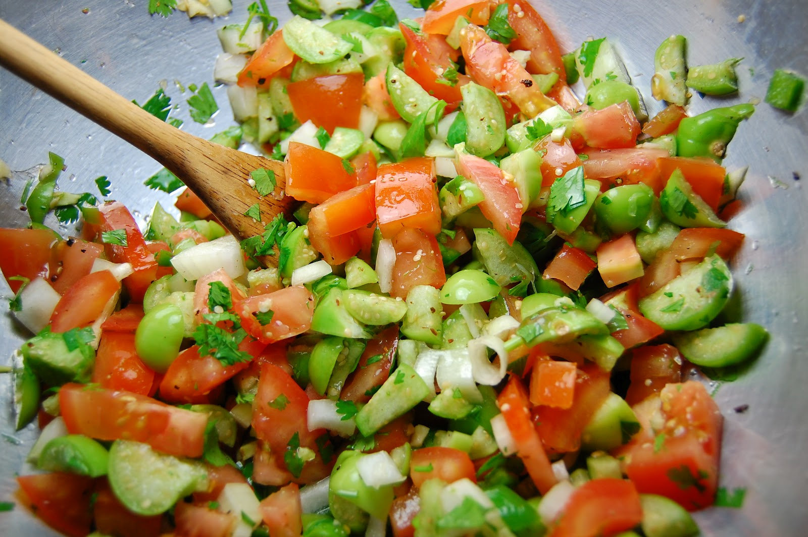 Tomatillo Pico De Gallo Recipe — Dishmaps