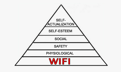 maslow needs wifi