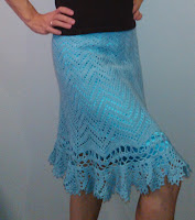 Пряжа для вязания юбки крючком отзыв