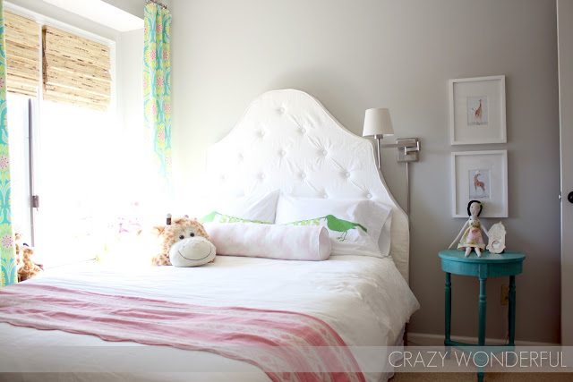 girl bedroom reveal