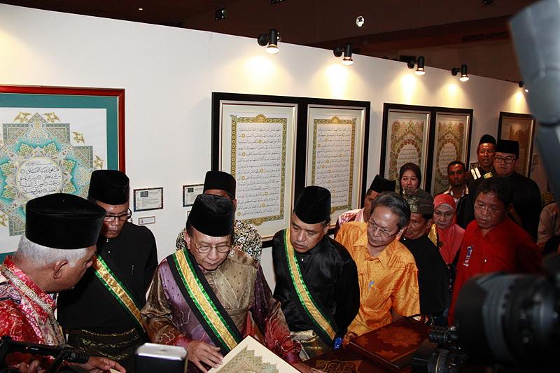 YBhg. Dato' Hj. Tajul Urus Mat Zain semalam berada di Gurun,Kedah