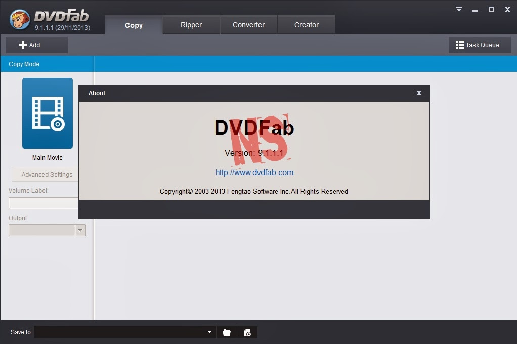 Download 525: DVDFab v9.1.1.1 Full Crack